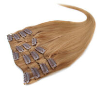 NEW 8A 22'' 70g 7pcs Set 100% Remy Human Hair Clip In Human Hair Extensions