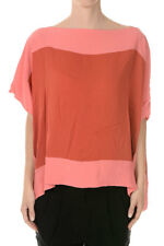 CHRISTIAN DIOR New woman pink Asimmetric Cut Top Silk Made in Italy