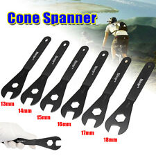 13mm 14mm 15mm 16mm 17mm 18mm Cone Spanner Wrench Spindle Axle Bicycle Bike Tool