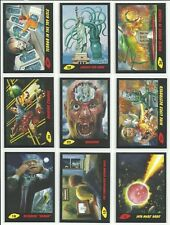 2017 Topps Mars Attacks The Revenge Black Parallel Card Serial #ed / 55 YOU PICK