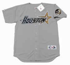 CRAIG BIGGIO Houston Astros 1999 Majestic Throwback Away Baseball Jersey