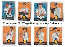 2017 Topps Heritage New Age Performers Baseball Set ** Pick Your Team **
