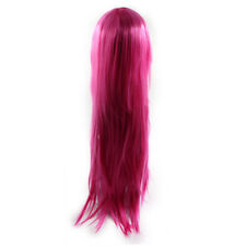 33.5 Inches Long Synthetic Cosplay Wig Costume Party Straight Hair w/ Wigs Cap