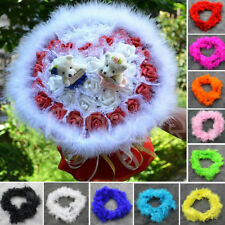 Multi-color options Feather Boas Decor Parties- Halloween Costume Trim Accessory