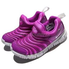 Nike Dynamo Free PS Fire Pink Preschool Girls Running Shoes 343738-622