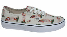 Vans Off The Wall Authentic Lace Up Hula Beige Unisex Mens Womens Plimsolls