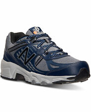 NEW MEN'S NEW BALANCE MT410v4 / MT 410 v4 TRAIL RUNNING SHOES!!! IN GRAY / NAVY!