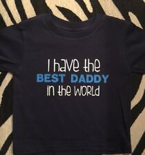 Best Daddy in the world shirt Father's day shirt boys kids girls new daddy shirt