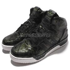 adidas Originals M Attitude Revive W Mid Top Green Black Snakeskin Women S75795