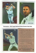 2010 Topps National Chicle Chrome Baseball Set ** Pick Your Team **