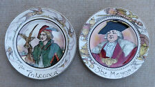 ROYAL DOULTON - THE PROFESSIONALS - SELECTION OF SERIESWARE PLATES.