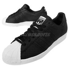 adidas Originals Superstar 80s Woven Black White Mens Shoes Trainers S75007