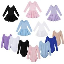 Girls Ballet Dance Dress Toddler Kids Gymnastics Leotard Tutu Dancewear Costume