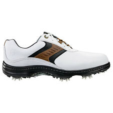 NEW Mens FootJoy Contour 54130 White / Taupe Closeout Golf Shoes