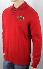Polo Ralph Lauren Red French Rib 1/2 Half Zip Sweater Big Pony Match NWT