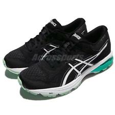 Asics GT-1000 6 VI Black Atlantis Green Women Running Shoes Trainers T7A9N-9001