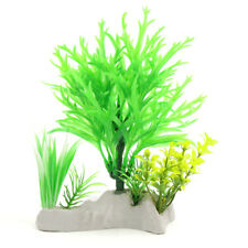 Plastic Grass Plant Betta Tank Aquarium Aquascape Decor Underwater Ornament