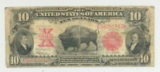 $10 1901 Bison United States Note a very popular type- mid grade nice looking