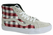 Vans Off The Wall SK8 Hi Lace Up Checkered Plaid Unisex Hi Tops 3CAGFO Vans A