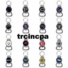 NFL Bottle Opener Key Chain - Pick Your Team - FREE SHIPPING