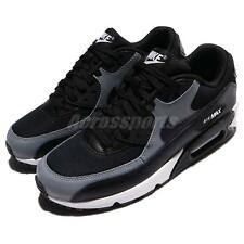 Wmns Nike Air Max 90 Black Cool Grey Women Running Shoes Sneakers 325213-037