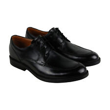 Clarks Beckfieldapron Mens Black Leather Casual Dress Lace Up Oxfords Shoes