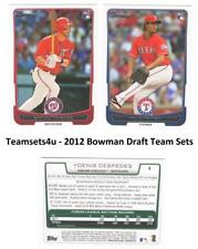 2012 Bowman Draft Baseball Set ** Pick Your Team **