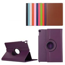 Purple 360 Degree Slim Flip Rotating Synthetic Leather Case Stand for iPad Pr...