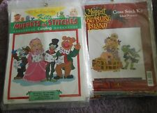 YOUR CHOICE: Just CrossStitch/Symbol of Excellence MUPPETS/TREASURE ISLAND Kits