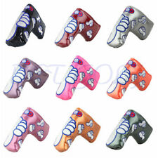 Thumb Golf Club Blade Head Covers Putter Cover For Ping Scotty Cameron Magnetic