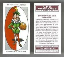 OGDENS Football Club Nicknames cigarette card (REPRINT) - Various