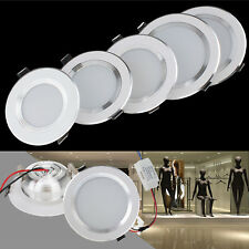 Dimmable LED Recessed Ceiling Panel Down Light 3W 5W 7W 9W 12W Lamp Bulb Fixture