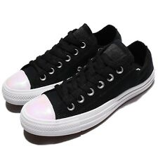 Converse Chuck Taylor All Star Low Black White Women Shoes Sneakers 558007C