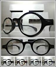 Men or Women CLASSIC VINTAGE RETRO Style Clear Lens EYE GLASSES Round Oval Frame
