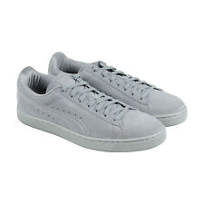 Puma Classic Anodized Mens Gray Suede Lace Up Sneakers Shoes