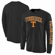 Tennessee Volunteers Black Distressed Arch Over Logo Long Sleeve Hit T-Shirt