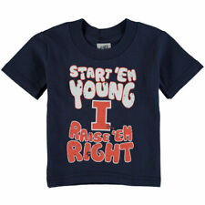 Illinois Fighting Illini Infant Start 'Em Young T-Shirt - Navy Blue - College