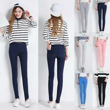 USA Women Skinny  Jeggings Stretch Candy Pencil Pants Leggings Trousers Bottoms