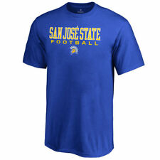 San Jose State Spartans Youth Royal True Sport Football T-Shirt