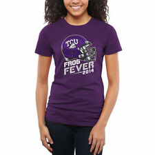 TCU Horned Frogs Women's Purple Frog Fever T-Shirt - College