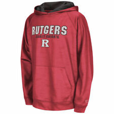 Colosseum Rutgers Scarlet Knights Youth Scarlet Surge Stadium Hoodie - College