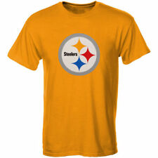 Pittsburgh Steelers Youth Gold Primary Logo T-Shirt - NFL