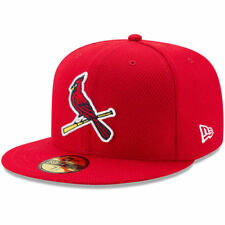 New Era St. Louis Cardinals Youth Red Diamond Era 59FIFTY Fitted Hat - MLB
