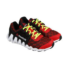 Reebok Zigtech Big N Fast Ex Boys Red Synthetic Athletic Running Shoes