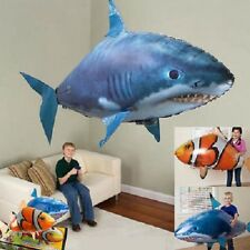 Remote Control RC Airship Inflatable Balloon Air Swimmer Flying Nemo Shark Toys