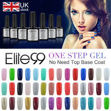 One Step Gel Polish UV LED Lacquer NO NEED BASE TOP COAT Manicure 10ML Elite99