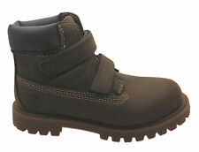 Timberland 6 Inch Hoop & Loop Kids Boots Toddlers Youths Brown 80806 80706