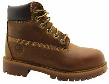 Timberland Authentic 6 Inch Youth Kids Boots Brown 80704 T2