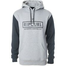 Rip Curl Corp Bloc Mens Hoody - Cement Marle All Sizes