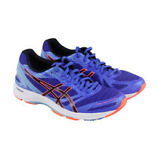 Asics Gel Ds Trainer 22 Womens Blue Purple Mesh Athletic Lace Up Running Shoes